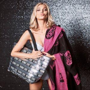 Victoria's Secret Sequin Stripe Tote Bag